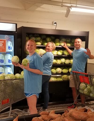 Eastgate Dental Excellence team food pantry community service