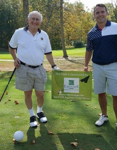 Eastgate Dental Excellence team golf tournament community outreach