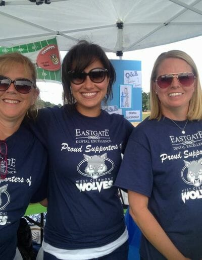 Eastgate Dental Excellence team community service