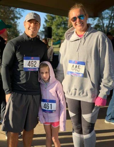 Eastgate Dental Excellence team participating in marathon